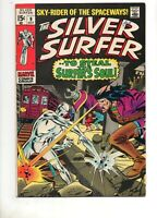 Silver Surfer #9 The FLYING DUTCHMAN & MEPHISTO! Marvel Fn+ 6.5 1969