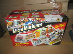 HASBRO MICROMACHINES micro machines CAMPER SUPER CITY VAN NUOVO MICRO MONDO NUOV