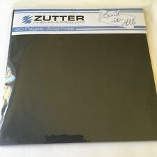 "Zutter Bind-It-All - 20 precut Black 6"" square pages  - NEW"