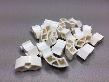 New LEGO Brick Round Corner 2 x 2 Macaroni 85080 White (x20) Authentic