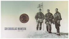 2012 $1 UNC - Sir Douglas Mawson - RAM Coin on Long Card