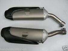 Original Auspuff links rechts Exhaust Muffler Yamaha R1 YZF 1000 07-08 NEU NEW
