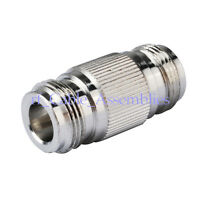 N-Type Female to Jack straight RF Coaxial Adapter Connector Couplers Zinc Alloy
