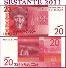 KYRGYZSTAN, KIRGHIZSTAN , KIRGISISTAN  -  20 SOM 2009 -  P 24  - FDS / UNC