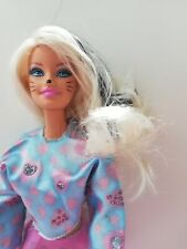 BARBIE MATTEL TARGET HALLOWEEN 2012 CATS GATTO HAIR BLOND MECHES BLACK BIONDI