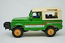 1:32 Britains 9512 LAND ROVER DEFENDER 90 COUNTY Farm Vehicle with DRIVER VGC
