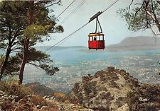 BR2824 Toulon Le teleferique du mont faron cable train   france