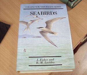 THE NEW NATURALIST - SEA BIRDS by J FISHER & R LOCKLEY HB DJ 1989 - illustrated