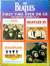 """BEATLES promo 2006 POSTER Rubber Soul HELP Early """"Capitol Albums on CD Vol. 2"""""""