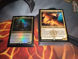Mtg Full EDH Deck - *Korvold, Fae-Cursed King* - Lots of Rares/Mythics!!!
