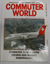 Commuter Air Magazine Commuter World Show April/May 1992 FAL 071815R