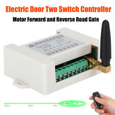 2CH 433MHz Wireless RF Remote Control Relay Switch Transmitter+2 Receiver Module