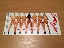 Crazy Girls Riviera Hotel Casino Las Vegas Show Card Flyer Leaflet Memorabilia