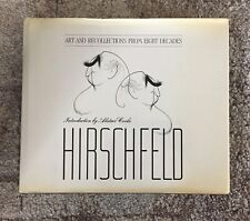 Al Hirschfeld: Art and Recollections from Eight Decades book of caricature