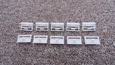 Clips Moldura Lado Umbral Falda Rover Interior/exterior Sujetadores 10PCS