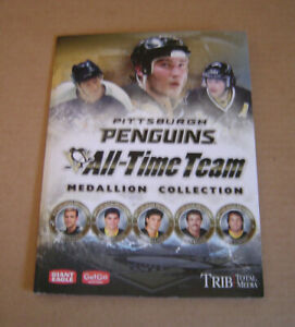 17 Piece Pittsburgh Penguins All-Time Team 2010 Official Medallion Collection