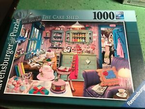 Ravensburger - 1000 Piece Jigsaw - THE CAKE SHED (No. 5 My Haven)