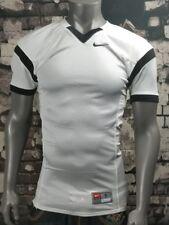 $65 Nwt Nike White & Black Open Field Practice Football Jersey Men's Size Small