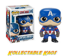 Captain America: Civil War - Captain America Pop! Vinyl Figure #125