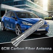 "2.4"" Stubby Antenna Car AM/FM Radio Short Aerial Mast Bee Sting Universal Silver"