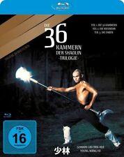 DIE 36 KAMMERN DER SHAOLIN TRILOGIE (Gordon Liu Chia-hui) Blu-ray Disc NEU+OVP