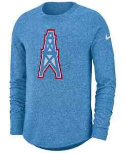 Nike Mens Houston Oilers Tennesse Titans Long Sleeve T-Shirt 2XL XXL NEW