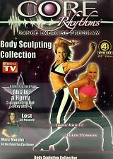 CORE RHYTHMS DANCE EXERCISE PROGRAM BODY SCULPTING COLLECTION AS SEEN ON TV