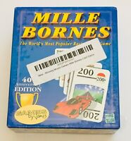 Mille Bornes Classic Auto Race Card Game Sealed 2002 Hasbro