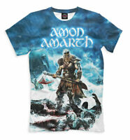 Amon Amarth t-shirt Swedish melodic death metal band Mount Doom rock group