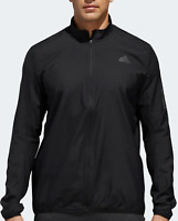 Adidas Response Wind Full Zip Jacket Mens Size UK Small Black  *49