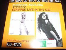 Christina Aguilera Stripped / Stripped Live CD DVD Australian Limited Set