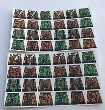 Custom 48 stickers german soldiers WW2 GERMAN camouflage SIZE - lego torso