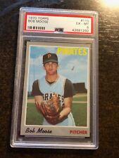 1970 Topps #110 Bob Moose *Psa Graded Ex/Mt 6 *Sharp* *Kgc-10998