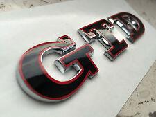 Polo Golf 4 5 6 7 IV V VI VII GTD Noir Rouge Emblème Lettrage Hayon