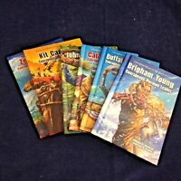 Courageous Heros of the American West set of 6 (B) Juvenile HB N (2013) 181013