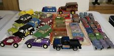 Vintage Diecast TootsieToy Lot - 44 Vehicles - Broncos Jeeps Cars + Tootsietoy