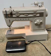 Singer Vintage Stylist 834 Zig-Zag Free Arm Sewing Machine w/Foot Pedal