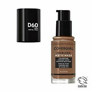 COVERGIRL TRUBLEND MATTE MADE FOUNDATION D60 TOASTED ALMOND