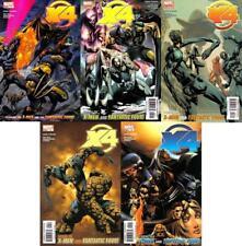 X4 X-Men / Fantastic Four #1-5 Complete Set
