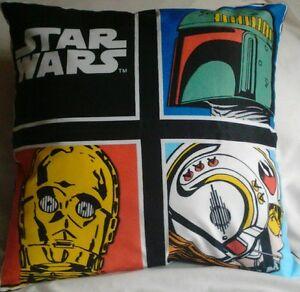 Star Wars Boba C3P0 Luke Handmade Cushion Cover/ Pillow Case 16 x 16 inch