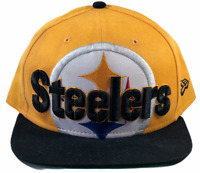 Pittsburgh Steelers NFL New Era Mens Snapback Hat