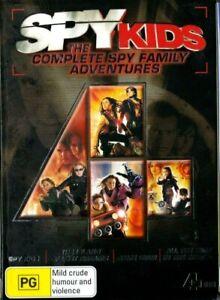 VERY GOOD DVD SPY KIDS The Complete Spy Family Adventures w Cardboard Sleeve