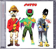PATTO hold your fire CD Nouveau neuf dans sa boîte/SEALED