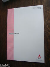 Mitsubishi Galant ´97 Europe Technical Information Prospekt / Brochure, GB