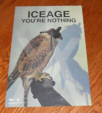 Iceage You're Nothing Poster Promo 2-Sided11x17 (eagle) Danish Punk Ronnenfelt
