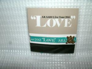 New ARASHI idol Live Tour 2013 Ribbon breath Green Official goods F/S japan