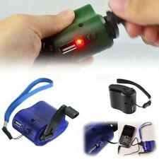 For cell phone USB Universal Charger Travel Emergency Hand Cranking Dynamo US