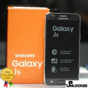 Boxed 4G 16GB Samsung Galaxy J5 J500F Dual SIM Unlock Android Smart Phone UK