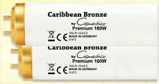25 x Brand New Tanning Lamps Caribbean Bronze by Cosmedico 160W Premium 2,6 UVB/