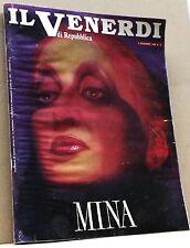 Il venerdì di repubblica - MINA [Rivista n.51, 9 dicembre 1988]